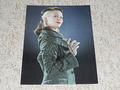 SALE! Harry Potter: 'Narcissa Malfoy' - Helen McCrory Signed 8x10 Colour Photo