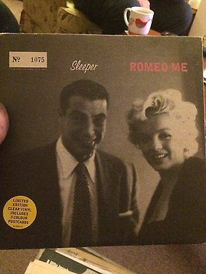 Sleeper Romeo Me Limited Edition Clear VINYL Single 45rpm