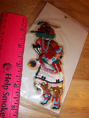 USA native american Kachina dancer Embroidered Patch, new in package, TOCHA