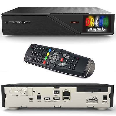 Dreambox DM 900 UHD 4K  DVB-S/S2 Dual TWIN Linux Sat Receiver E2 Full HD 2160p