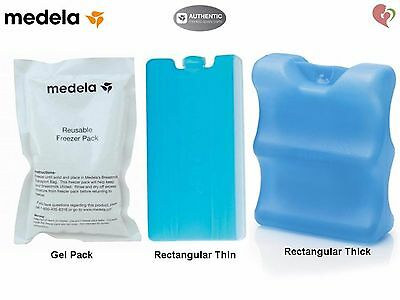 Medela Breast Milk Cooling Ice Freezer Element Gel Pack Pak Storage Carrier Tote