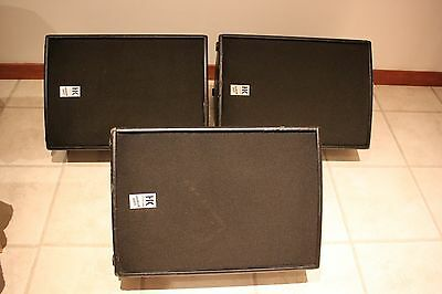 HK Audio Premium Series PR115X Stage Monitors (3 Available)