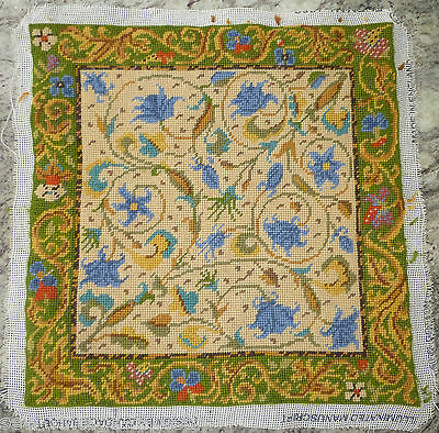 Ehrman Illuminated Manuscript Completed Tapestry Needlepoint - Candace Bahouth