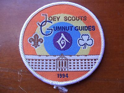 Joey Scouts Gumnut Guides 1994 Scout Cloth Badge