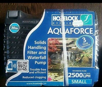 pond pump and filter
