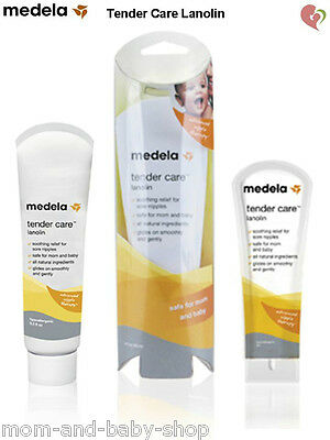 Medela Breast Milk Feeding Nipple Cream Sore Tender Care Lanolin Multi Size