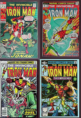 Iron Man 38 57 110 and 134