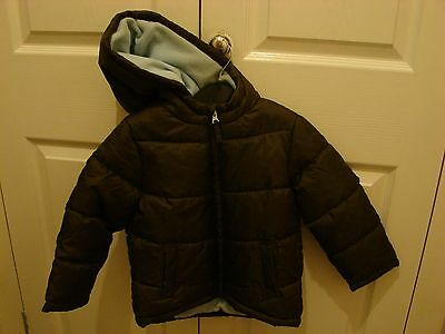 Boys Hooded Padded Coat age 3-4 years by Marks & Spencer NWLA