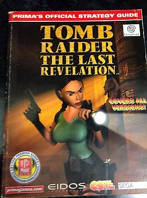 Tomb raider- The Last Revelation , Official Strategy Guide