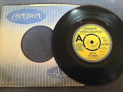 ROY ORBISON - WALK ON rare UK 1968 DEMO PROMO / ROCK 'N' ROLL / LONDON RECORDS !
