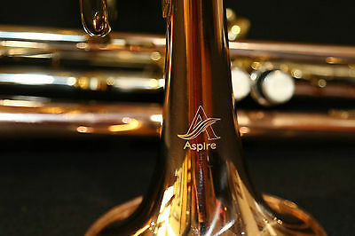 Trumpet with Rose Brass Bell