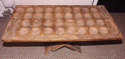 Antique Zambian, African, Table Game - 1970