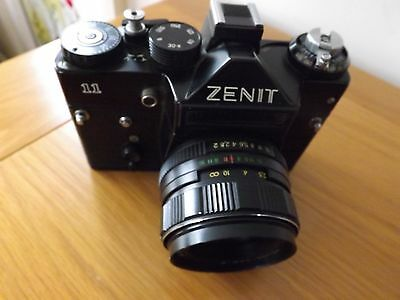 ZENIT 11 35mm  with helios lens