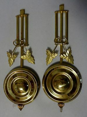 Kitchen Clock Pendulums Old Stock Repro Twofer