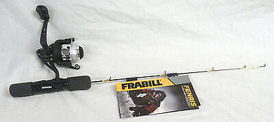 """Frabill Fenris #682202 Ice Fishing 22"""" Rod & Reel Combo, New Fast Free Shipping"""