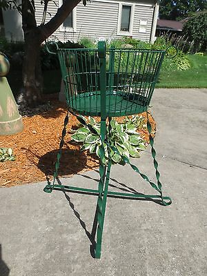 Antique - Vintage Wrought Iron Plant Stand