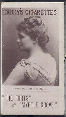 Taddy-Actresses Collotype 1897- Miss Marian Mckenzie