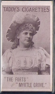 Taddy-Actresses Collotype 1897- Miss Violet Cameron