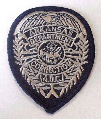 """Old Arkansas Department Of Corrections 3 1/2"""" Patch Unused"""