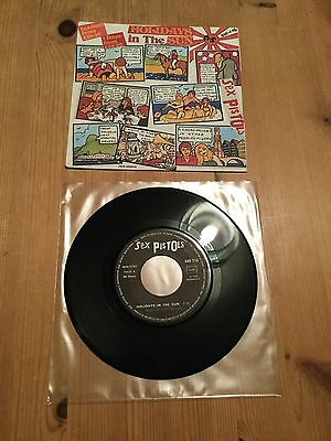 Sex Pistols - Holidays In The Sun - French Release - Punk