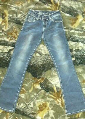 Wired Heart Denim Jeans Size 12