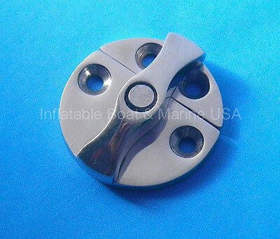 Boat Door Cabinet Hatch Turn Button Catch Latch-Small- Marine Stainless steel