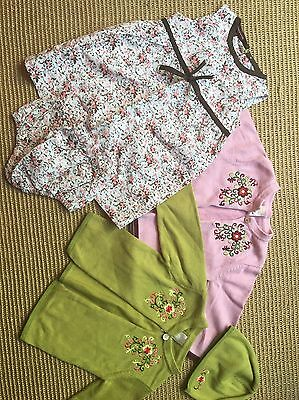 tea collection 12-18 mos girls lot 4 pieces