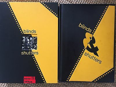 Signed LIMITED First Edition: RARE BOOK: Blinds and Shutters by Michael Cooper