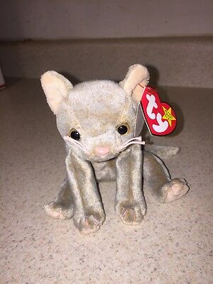 TY Beanie Baby: Scat The Cat  (4231)