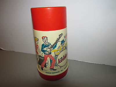 Vintage 1969 The Archies Thermos By Aladdin Look  !!!