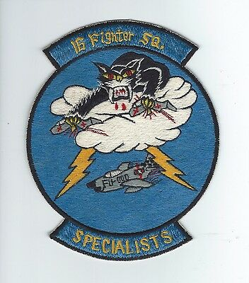 """50s 16th FIGHTER INTERCEPTOR SQUADRON """"SPECIALISTS"""" (JAPANESE MADE) patch"""