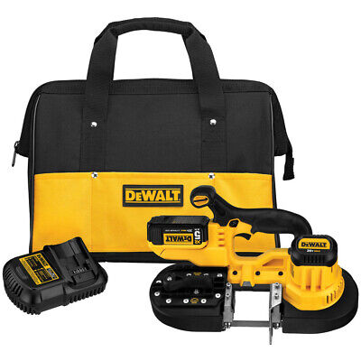 DeWalt DCS371P1 15 in. 740 FPM 20V MAX Cordless Lithium-Ion Band Saw Kit New