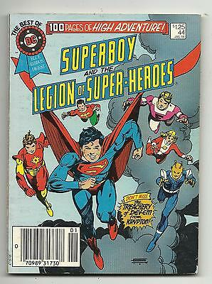 Best of DC Blue Ribbon Digest #44 - Superboy and the Legion of Super-Heroes