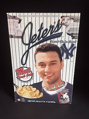 2000 Derek Jeter, Frosted Flakes Cereal Box (Empty)