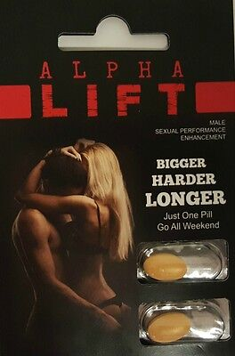 ALPHA LIFT Male Sexual Enhancement Erection Pills