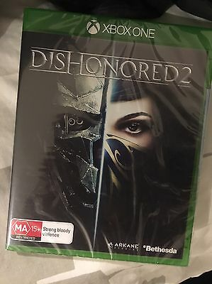 Dishonored 2 Xbox One BRAND NEW And SEALED.