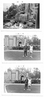 Six Snap Shot Photographs of Disneyland August 1960~100225