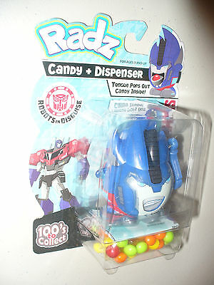 Transformers Robots in Disguise Optimus Prime Radz Candy Dispenser - dated 2015