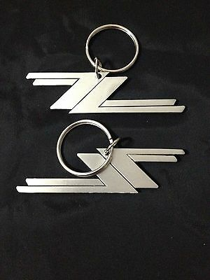 SET of 2 ZZ TOP KEY CHAINS Very Duarable