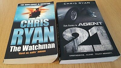 Chris Ryan - 2 Books - Paperback - Agent 21 & The Watchman