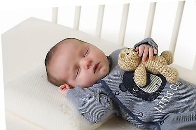 Clevamama Clevafoam Baby Pillow Prevents Plagiocephaly/Flat or Misshapen Head