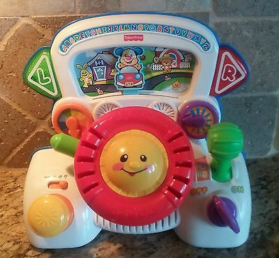 FISHER PRICE Laugh & Learn Rumble & Learn Driver Developmental Baby Toy