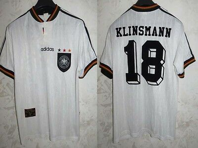 Maglia Shirt Jersey Trikot Calcio Football Germania Germany Klinsmann N°18 1996