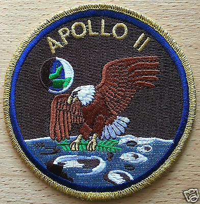 Space Mission Apollo 11 Patch Embroidered