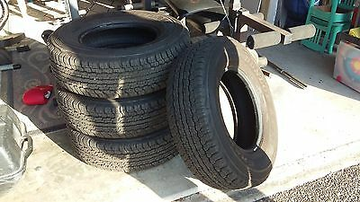 Dunlop AT22 235/75R15 Tyres x 4
