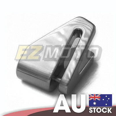 Chrome XENA X1 6mm V-shaped Strong Light Safety Motorcycle Scooter Lock Steel