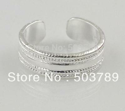 925 Sterling Silver Beaded Toe Ring / simple, classy and beautiful