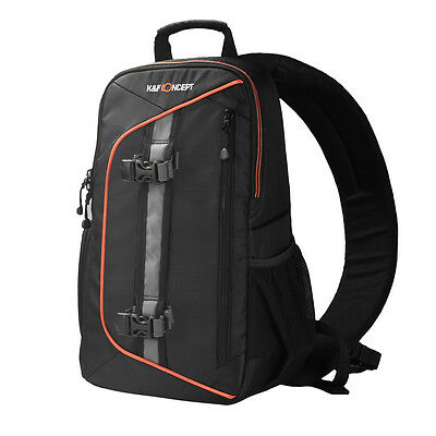 Waterproof Camera Sling Backpack Bag Case for Canon Nikon Sony w/ Rain Cover AUS