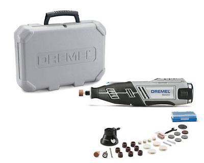 NEW! Dremel 8220-1/28 10.8V Li-ion Rotary Tool Kit + Case + 28 Accesories