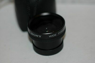 Sony Wide Conversion Lens  X 0.5  Vcl-0537 .